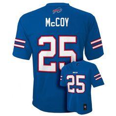 Boys 8-20 Buffalo Bills LeSean McCoy NFL Replica Jersey, Boy's, Size: Xl(18/20), Blue