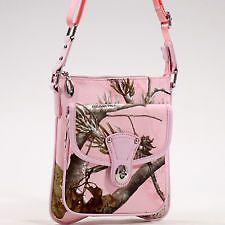 Realtree® Pink Camo Messenger Bag