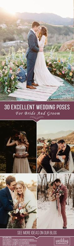 Every couple wants to see their beautiful wedding photos. Photos that you want to print for the album, which you can proudly show to friends. It is best to discuss with the photographer in advance the poses that are perfect for you. #Weddingphoto #weddingforward #wedding #bride #PhotoIdeas