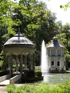 Jardin del Principe - Chinese Pond, Aranjuez Spain