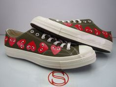 6f6116483ab DS Converse Chuck 70 CDG Ox Green 11 for sale online