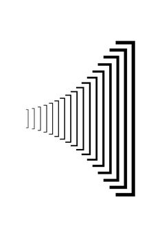 'Brackets' by Michael Ian Kaye - created as part of 'The Punc't Project' by And . - 'Brackets' by Michael Ian Kaye – created as part of 'The Punc't Project' by And Partner - Geometric Shapes Art, Geometric Designs, Rhythm Art, Design Art, Logo Design, Bullet Art, Typographic Logo, Exhibition Poster, Illusion Art
