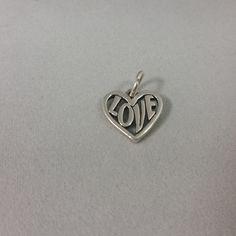 James Avery Heart Love Charm | $30.00