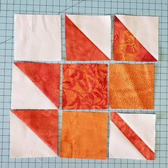 Maple Leaf quilt block sections Barn Quilt Designs, Barn Quilt Patterns, Patchwork Quilt Patterns, Quilting Designs, Quilting Patterns, Halloween Quilts, Fall Quilts, Mini Quilts, Quilt Tutorials