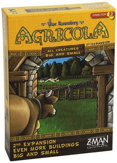 Agricola: All Creatures Big and Small: Even More Buildings Big and Small by Z-Man Games