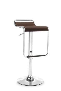 Sedia CECCHETTO modello Superstar sedile cuoio scuro base metallo