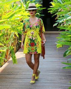 Colorful. Summer look.