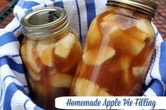 Mommy's Kitchen - Old Fashioned & Country Style Cooking: Apple Pie Filling in a Jar