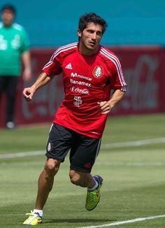 Damián Álvarez en selección mexicana.