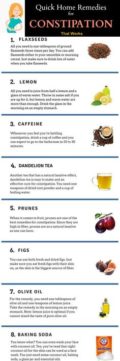 constipation best home remedies to get rid of constipation fast at home and stop soft stool quickly active ingredients are baking soda and olive oil for
