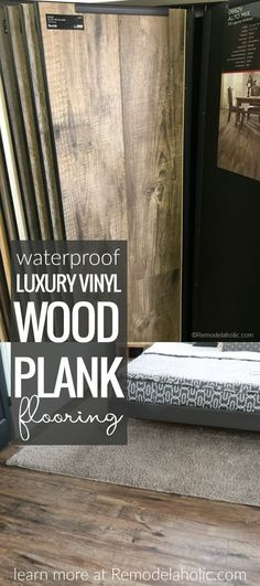 A new project with NEW luxury vinyl wood plank floors! A new project with NEW luxury vinyl wood plank floors! Remodelaholic Remodelaholic Remodelaholic Favorites Get the farmhouse look without the […] vinyl Flooring Vinyl Wood Planks, Vinyl Wood Flooring, Luxury Vinyl Flooring, Wood Vinyl, Luxury Vinyl Plank, Diy Flooring, Kitchen Flooring, Hardwood Floors, Flooring Ideas