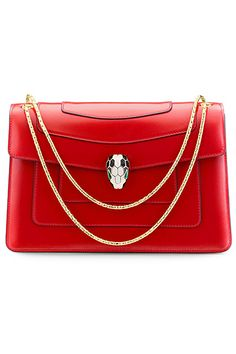 Bulgari 2017 Fall Winter Serpenti Bag Red Purses