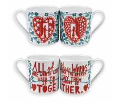 Rob Ryan His & Her mugs.