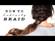 love!★ How To: ZIPPER BRAID Your OWN HAIR TUTORIAL | CUTE HAIRSTYLES - YouTube