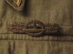WW II British Battle Blouse Converted for Kriegsmarine U Boat Use | Collectors Weekly