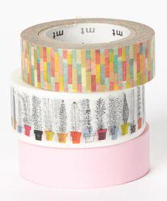 Art Deco Washi Tape Set on Zulily