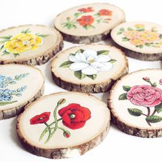 Tarra Wood Art - Everything About Japanese Cars 2020 Wood Slice Crafts, Wood Burning Crafts, Wood Burning Art, Wooden Crafts, Driftwood Crafts, Diy Crafts, Deco Table Noel, Wood Circles, Wood Rounds