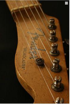 bushdog: Fender Broadcaster 1950 Guitar For Sale Ten-Guitars