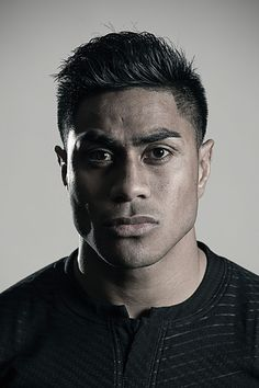 Malakai Fekitoa poses during a New Zealand All Blacks Rugby World Cup Squad Portrait Session on August 31, 2015 in Wellington, New Zealand.