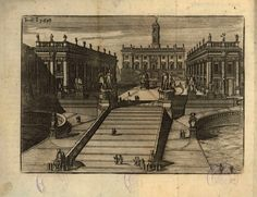 Piazza del Campidoglio #roma #campidoglio #settecolli #michelangelo #illustrazione Michelangelo, Rome, 1, Journey, Antiques, Drawings, Arch, Painting, Cartography
