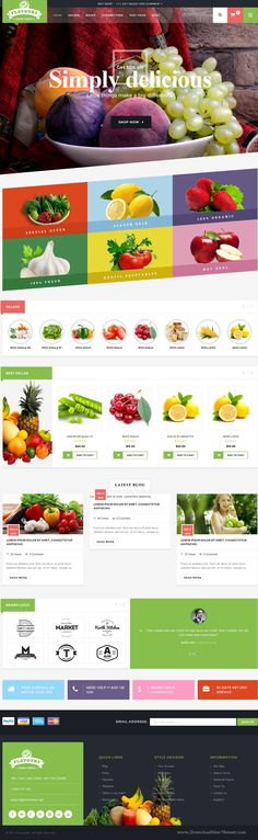 Flavours - Multipurpose WooCommerce Theme
