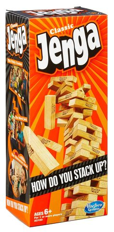 Amazon.com: Jenga Classic Game: Toys & Games