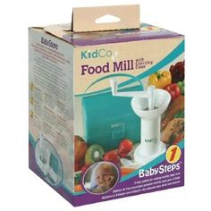KidCo Baby Steps Food Mill, with Carrying Case , 1 food mill