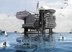Just as the thought of abandoned oil rigs was shaping up as a global problem, Ku Yee Kee and Hor Sue-Wern came up with an innovative proposal of transforming abandoned oil rigs situated in Malaysia into housing structures.