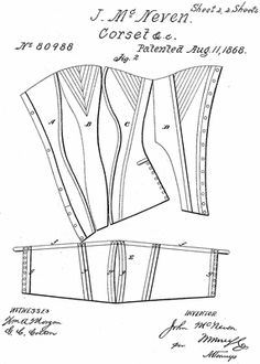 Vintage Corset Pattern