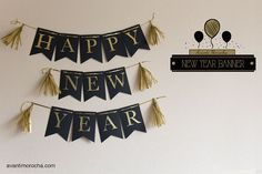 New Year Banners / Banderines