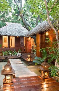"""to ] Great to own a Ray-Ban sunglasses as summer gift. Oasis an elegant day spa where the client becomes the center of the """"Lanna Experience"""". Prado Ba, Villas, Bali Garden, Massage Place, Tropical Houses, Chiang Mai, Construction, Trip Advisor, My House"""