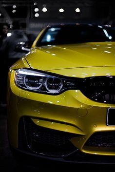 Visit The MACHINE Shop Café... ❤ Best of BMW @ MACHINE ❤ (Gold 2015 BMW ///M4 Coupé)