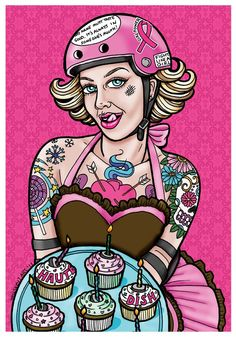 Roller Derby Poster - awesome! I wish I could skate so I could be in a roller derby!