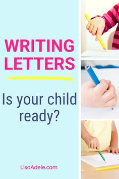 Learn 2 signs that your preschool child is ready for writing letters. Get ideas to help develop the pencil grip, including many fine motor skills activities and other pre-writing activities you can do at home, including activities to learn letters without alphabet tracing worksheets. Pre Writing Activities Preschool Fine Motor | Kindergarten Prep Activities Letter Sounds | Pencil Grip Activities Fine Motor | Learning to Write Letters Preschool | Activities to Work on Pencil Grasp Writing Activities For Preschoolers, Alphabet Activities Kindergarten, Letter Sound Activities, Homeschool Preschool Curriculum, Alphabet Phonics, Kindergarten Prep, Alphabet Tracing, Writing Letters, Teaching Letters