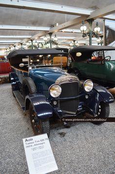 Audi Torpedo E21/78. 1924. Collection Schlumpf - Cité de l'Automobile. Mulhouse car museum. Museo coches clásicos de Mulhouse. Classic car. Foto Xabi Albizu