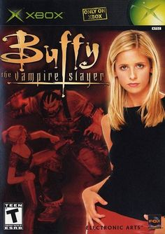 Buffy the Vampire Slayer - Used by Electronic Arts for xbox. Can be played on xbox 360 as well. Playstation, Xbox 360, Buffy Im Bann Der Dämonen, Sarah Michelle Gellar, Xbox Games, Tv Episodes, Electronic Art, Buffy The Vampire Slayer, Video Games