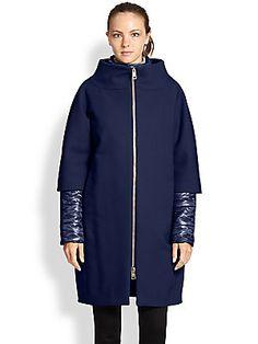 Herno Convertible Cocoon Coat