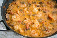 Shrimp & Mushroom Sauce-12