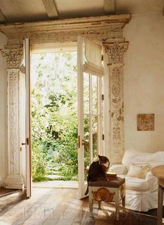 Oh how I love French doors, and these are spectacular!