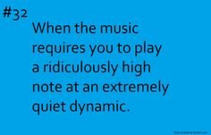I play the flute and it's like, you can go high but only play so quiet Marching Band Problems, Marching Band Memes, Flute Problems, Band Nerd, Flute Memes, Music Jokes, Band Jokes, This Is Your Life, Love Band