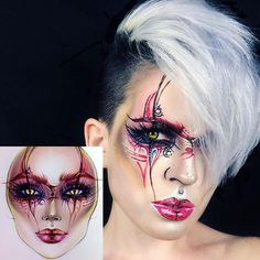 "3,721 Likes, 12 Comments - Sergey X (@milk1422) on Instagram: ""#artistmilk1422 #artist @mclemee_fx ✨The makeup is stunning! It's perfect ❤ thank you so much …"""