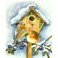 20 new Ideas robin bird illustration christmas cards Illustration Noel, Christmas Illustration, Christmas Bird, Christmas Scenes, Vintage Christmas Images, Christmas Pictures, Images Noêl Vintages, Old Fashioned Christmas, Bird Pictures