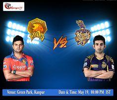 IPL 2016: Gujrat Lions Vs Kolkata Knight Riders  #GLvKKR #KKRvGL #VIVOIPL #IPL #IPLT20 #IPL2016 #GameMaariChhe