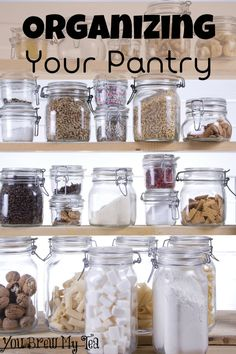 Struggle to keep things in order? Check out how you can begin Organizing Your Pantry today!