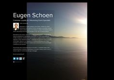 Eugen Schoen's page on about.me – http://about.me/eugen12