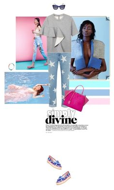 """Simply Divine."" by simonedevine ❤ liked on Polyvore featuring STELLA McCARTNEY, Marni, Fendi, Thierry Lasry and Sophia Webster"