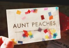 21 best business cards images on pinterest business cards carte a unique and memorable business card made from a glassine bag and some handmade tissue paper reheart