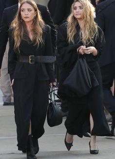 Ashley Olsen Style, Olsen Twins Style, Olsen Fashion, Star Fashion, Womens Fashion, Fall Fashion, Mary Kate Ashley, Mode Streetwear, Elizabeth Olsen