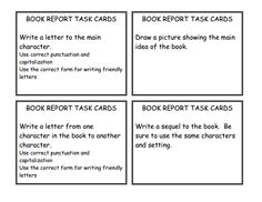 Book Report task cards.pdf