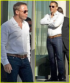 This is how jeans should look on a man.